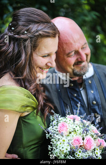 Smiling couple - Stock Image