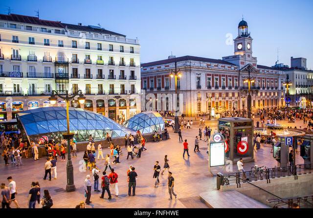 Puerta Del Sol Stock Photos Puerta Del Sol Stock Images
