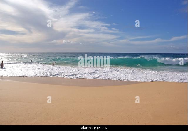 Sandy Beach, Oahu - Stock Image