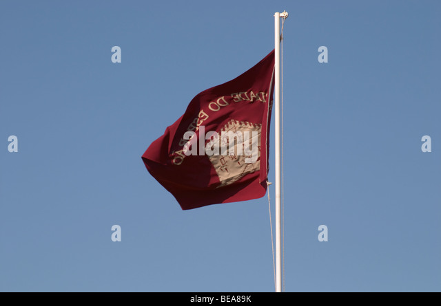 flag herdade do esporao alentejo portugal - Stock Image