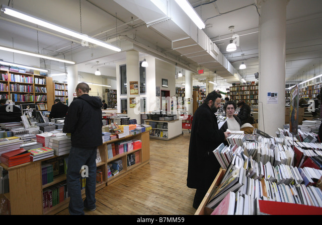 Strand Bookstore in New York City - Stock Image