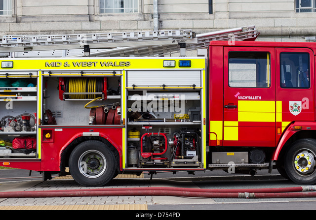 Fire Engine Side View Stock Photos Amp Fire Engine Side View