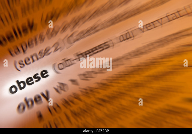 Concept - Obese - Stock Image