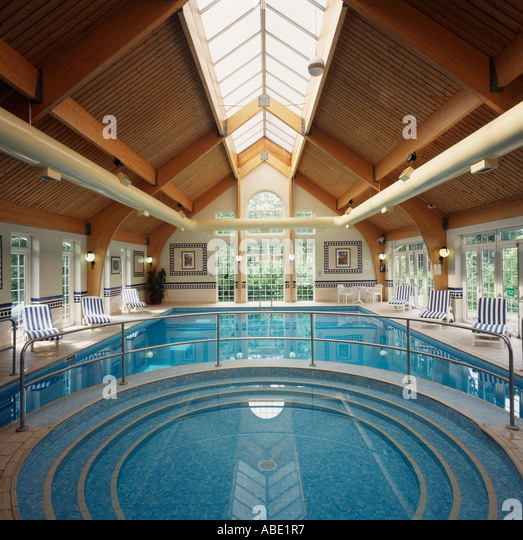 Large Indoor Swimming Pool Stock Photos & Large Indoor