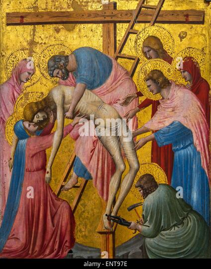 The deposition from the Cross 26/09/2013 - Antiquity Collection - Stock Image