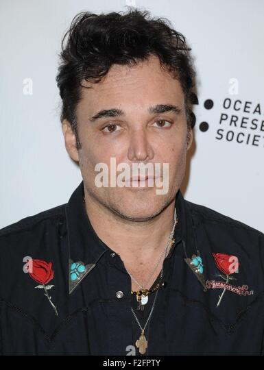 Los Angeles, CA, USA. 17th Sep, 2015. David LaChapelle at arrivals for RACING EXTINCTION Premiere, The London West - Stock Image