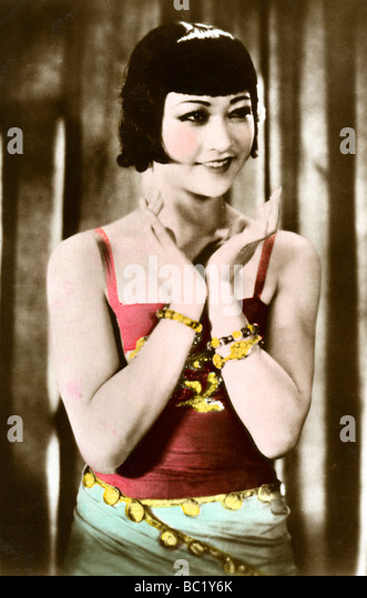 Anna May Wong (1905-1961), Chinese-American actress, 20th century. - Stock Image
