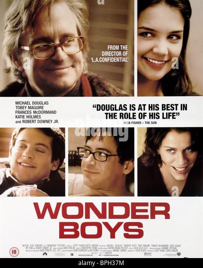 FILM POSTER WONDER BOYS (2000) - Stock-Bilder
