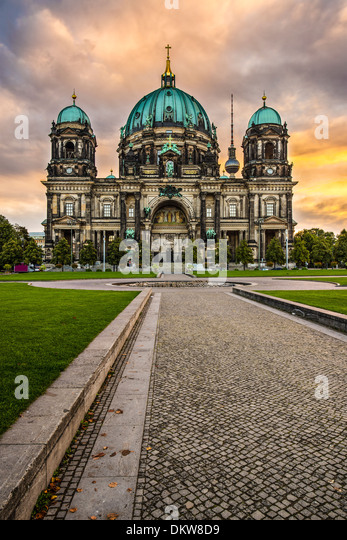 Cathedral of Berlin, Germany. - Stock-Bilder