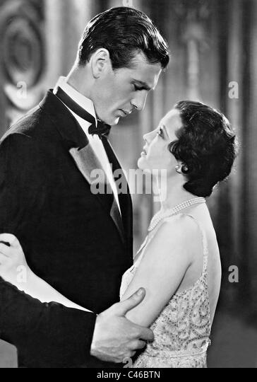Gary Cooper and Sylvia Sidney in 'City Streets', 1931 - Stock Image