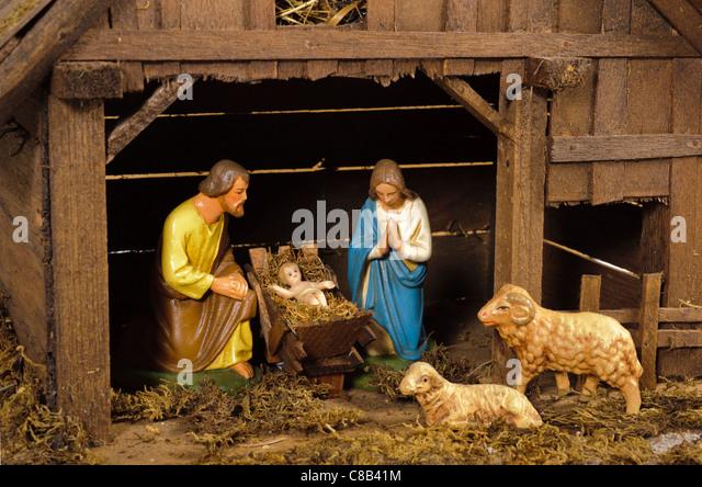 Bethlehem Christmas Crib Stock Photos Amp Bethlehem