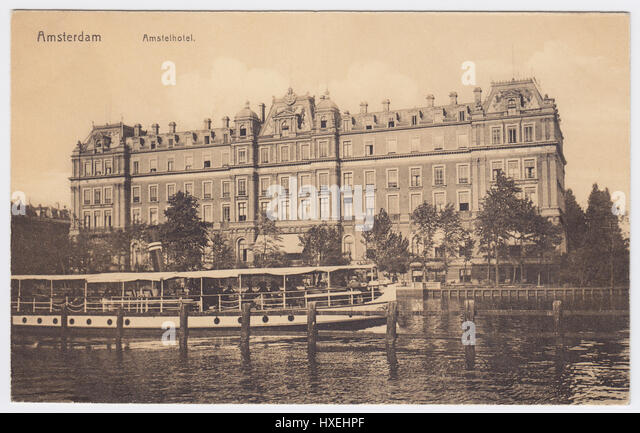 Hotel Amstel, Amsterdam, Netherlands - Stock Image