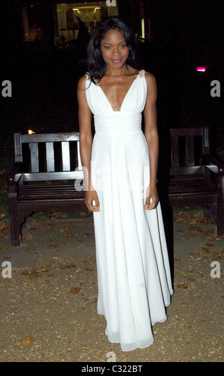 Naomie Harris arrives to the 'End of Summer Ball' charity event in Berkeley Square London, England - 25.09.08 - Stock Image