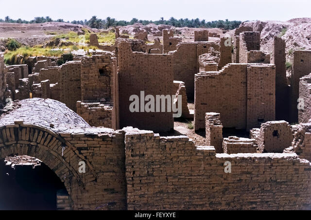 AA 6826. Archival 1960s, Babylon ruins, Iraq - Stock Image