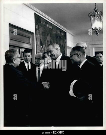 Jun. 06, 1965 - Twentieth Anniversary Of Signing Of United Nations Charter Commemorated At San Francisco: The City - Stock Image