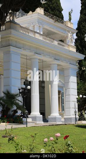 Achilleion in Gastouri auf Korfu, Ionische Inseln, Griechenland - Stock-Bilder
