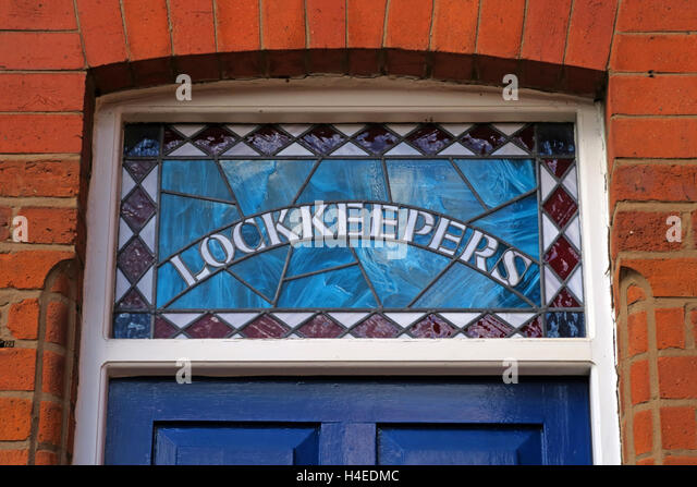 Lockkeepers lodge,Rochdale Canal,Castlefield,Manchester,England,UK - Stock Image