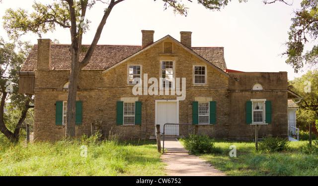 Heinrich Kreische House was built around 1855 south of LaGrange TX - Stock-Bilder