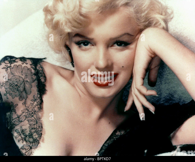 MARILYN MONROE ACTRESS (1957) - Stock-Bilder