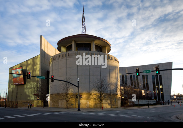 Country Music Hall of Fame, Nashville, Tennessee - Stock Image