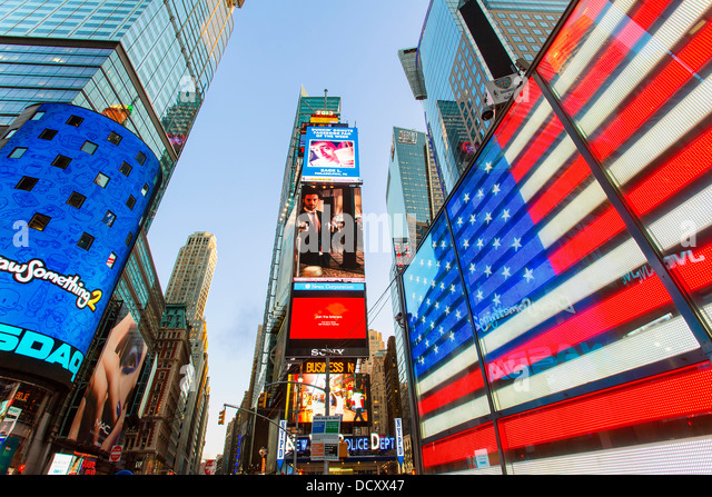 New York City Times square - Stock Image