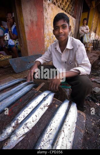 Mapusa Market, Goa, India, Asia - Stock-Bilder