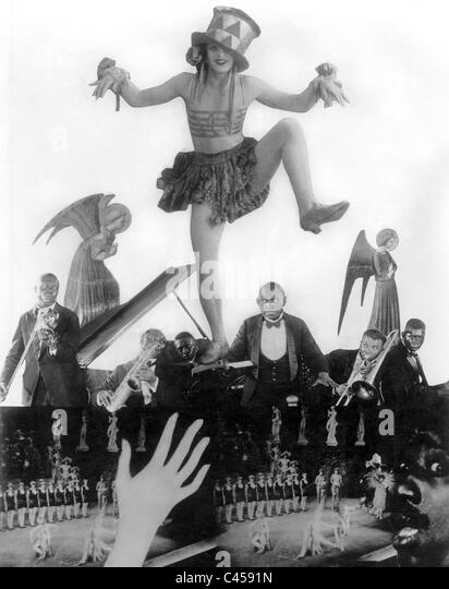Scene from: 'Berlin: Symphony of a Metropolis' (1927) - Stock Image