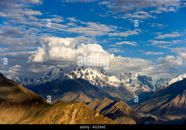 Spectacular mountain scenery of Hunza in Northern Pakistan - Stock-Bilder