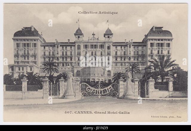 Hôtel Gallia, Cannes, France - Stock Image