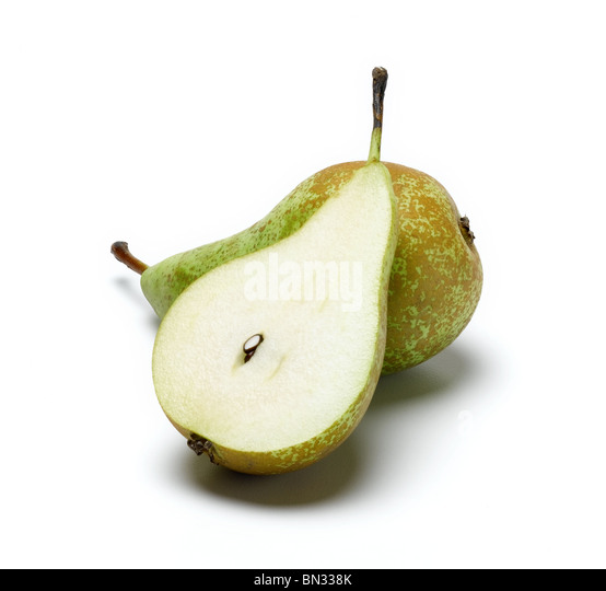 Conference Pears cut out - Stock Image