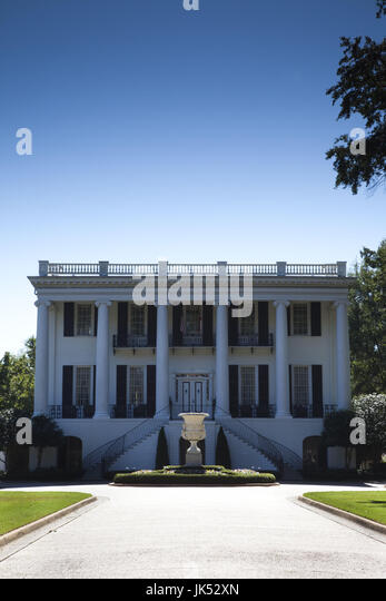 USA, Alabama, Tuscaloosa, University of Alabama, President's House - Stock Image