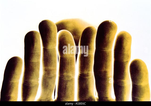 Andy s Hands - Stock-Bilder
