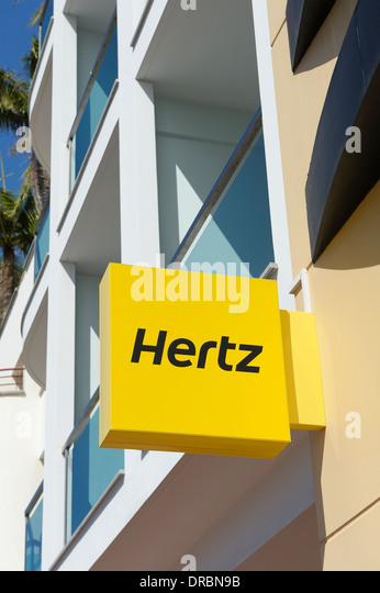 Hertz car rental los angeles airport phone number