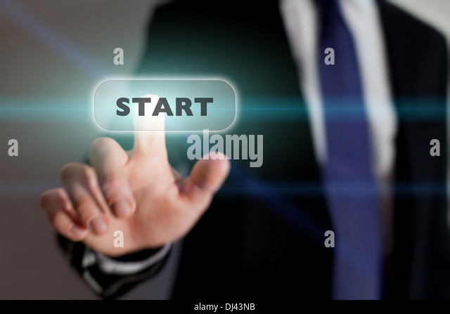 start new business, concept - Stock-Bilder