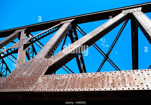 Black bridge stock photos black bridge stock images alamy for Metal garden bridge designs
