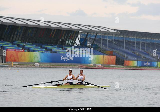Rowing Team Rowing Ahead Ahead Stock Photos & Rowing Team ...