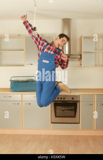 Fitted cupboards stock photos fitted cupboards stock for Cuisine installation