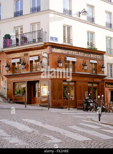 Montmartre food stock photos montmartre food stock for Restaurant miroir montmartre