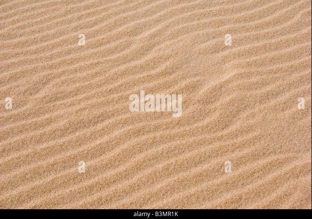 Italy, Sardinia, Sand, full frame - Stock Image