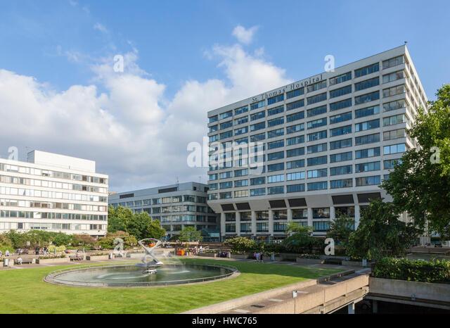 St Thomas' Hospital, London, UK - Stock Image