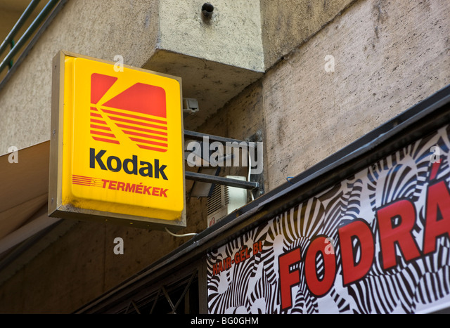 hungary budapest kodak sign capital autumn alamy
