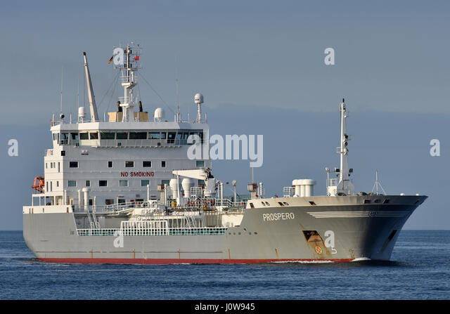 Chemical Oil Products Tanker Prospero - Stock Image
