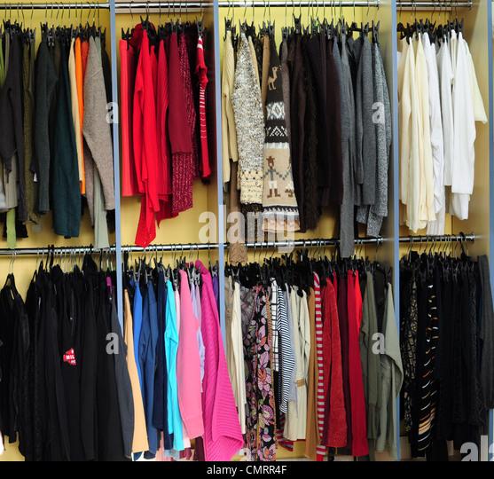 Racks Of Clothing Store Stock Photos Amp Racks Of Clothing