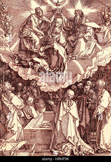 Assumption of Mary - Stock Image