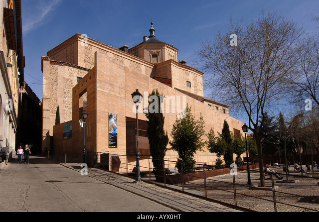 toledo Spain archive municipal architecture - Stock Image