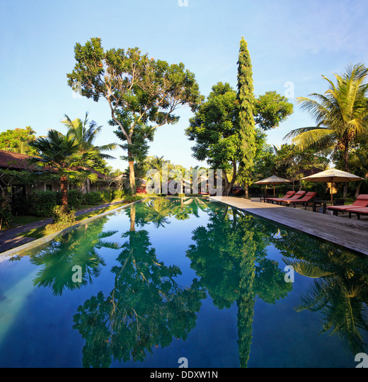 Indonesia, Bali, Ubud, Boutique Resort - Stock Image