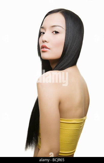 Beautiful young woman - Stock Image