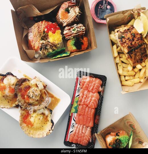Foods - Stock Image