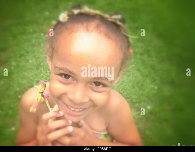 Smiling child - Stock-Bilder