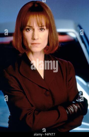 Holly Hunter / Crash / 1996 / directed by David Cronenberg / Alliance Communications Corporation - Stock Image